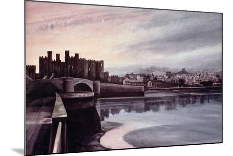 Conwy Bridge-Jane Carpanini-Mounted Giclee Print