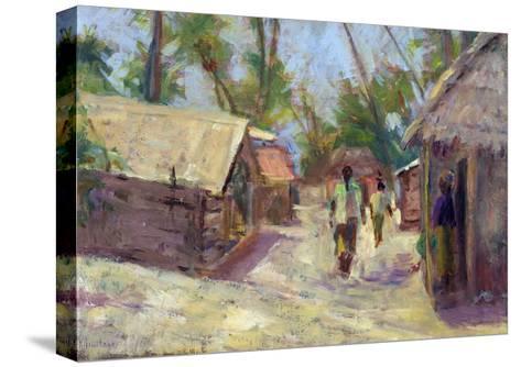 Zanzibar Village, 2001-Karen Armitage-Stretched Canvas Print