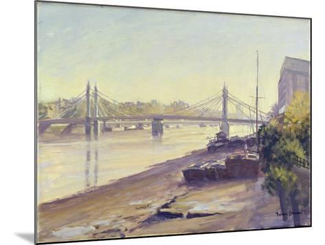 Albert Bridge-Julian Barrow-Mounted Giclee Print