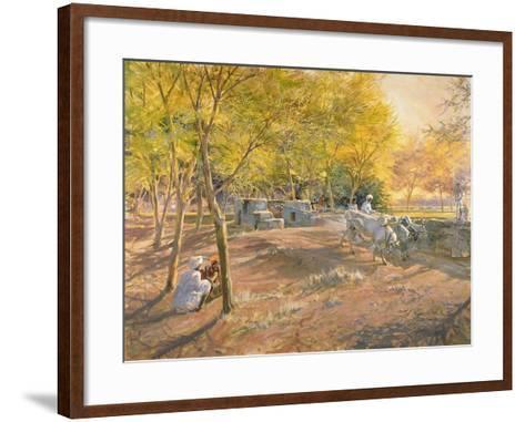 Working for Water, Rajasthan, 1997-Tim Scott Bolton-Framed Art Print