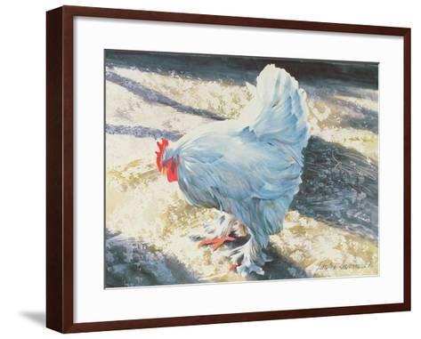 Blue Bird, 1986-Sandra Lawrence-Framed Art Print