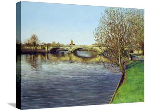 Kew Bridge, 1993-Isabel Hutchison-Stretched Canvas Print