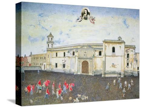 Political Protest, the Cloister of Sor Juana De La Cruz (1648-95) 2001-James Reeve-Stretched Canvas Print