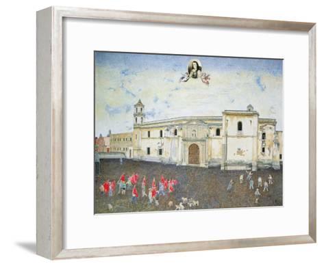 Political Protest, the Cloister of Sor Juana De La Cruz (1648-95) 2001-James Reeve-Framed Art Print