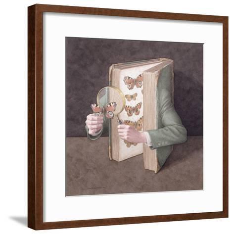 The Collector, 2005-Jonathan Wolstenholme-Framed Art Print