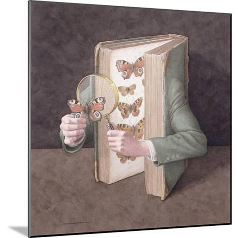 The Collector, 2005-Jonathan Wolstenholme-Mounted Giclee Print