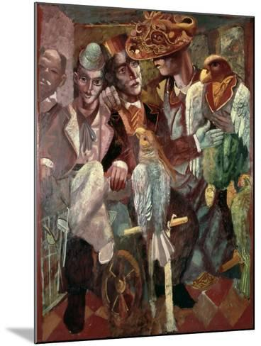 The Ventriloquist, 1987-Michael Rooney-Mounted Giclee Print