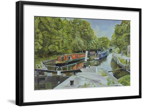 Knowle Top Lock, 2003-Kevin Parrish-Framed Art Print