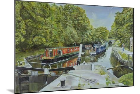Knowle Top Lock, 2003-Kevin Parrish-Mounted Giclee Print