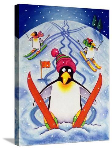 Skiing Holiday, 2000-Cathy Baxter-Stretched Canvas Print