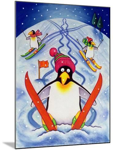 Skiing Holiday, 2000-Cathy Baxter-Mounted Giclee Print