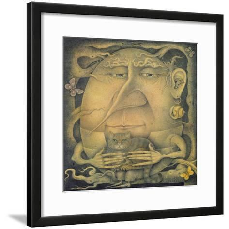 Waiting for Alice-Wayne Anderson-Framed Art Print