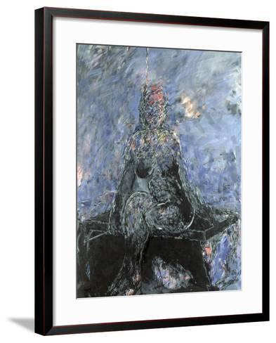 Woman on a Banquette, 1984-Stephen Finer-Framed Art Print