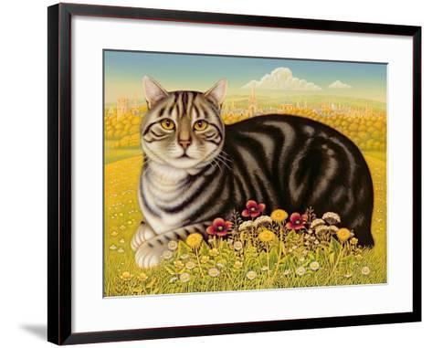 The Oxford Cat, 2001-Frances Broomfield-Framed Art Print