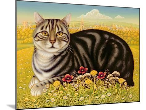 The Oxford Cat, 2001-Frances Broomfield-Mounted Giclee Print