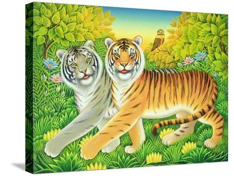 Tyger/Tyger, 2002-Frances Broomfield-Stretched Canvas Print