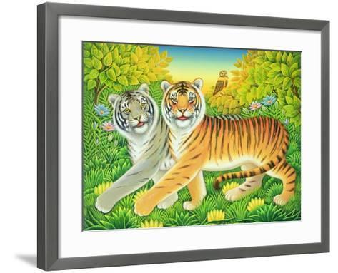 Tyger/Tyger, 2002-Frances Broomfield-Framed Art Print