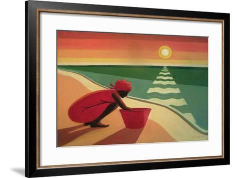 Evening Calm, 2003-Tilly Willis-Framed Art Print