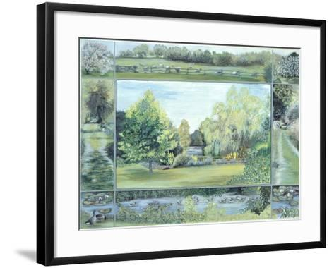 The Lake, Glyndebourne, 1997-Ariel Luke-Framed Art Print