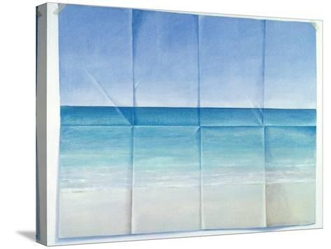 Seascape, 1984-Lincoln Seligman-Stretched Canvas Print