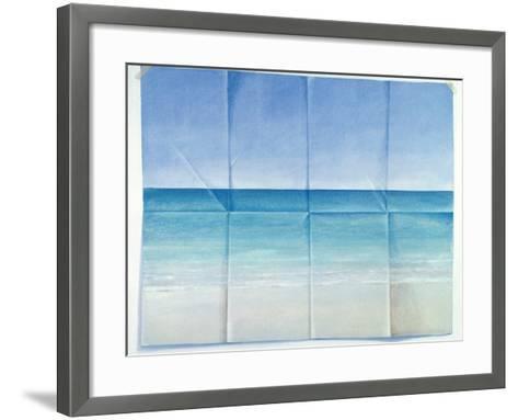 Seascape, 1984-Lincoln Seligman-Framed Art Print