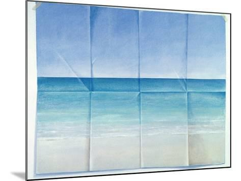 Seascape, 1984-Lincoln Seligman-Mounted Giclee Print
