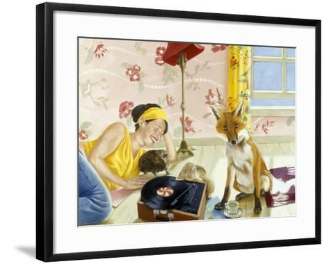 Our Fabulous Babysitter-Alix Soubiran-Hall-Framed Art Print