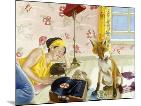 Our Fabulous Babysitter-Alix Soubiran-Hall-Mounted Giclee Print