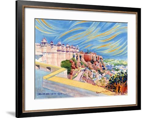 Gwalior Fort, India, 2001-Robert Tyndall-Framed Art Print