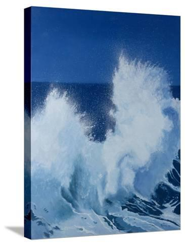 Two Little Waves Breaking, 1989-Alan Byrne-Stretched Canvas Print