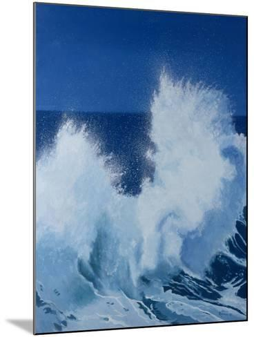 Two Little Waves Breaking, 1989-Alan Byrne-Mounted Giclee Print
