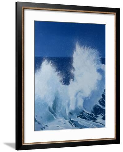 Two Little Waves Breaking, 1989-Alan Byrne-Framed Art Print