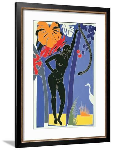 Eve, 1985-Derek Crow-Framed Art Print