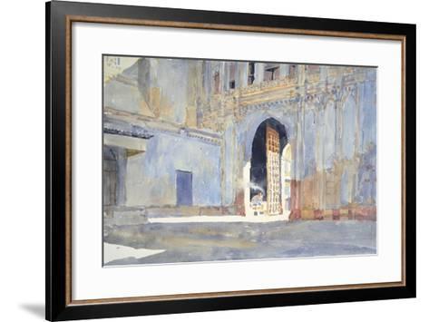 Palace Gate, Gujarat-Lucy Willis-Framed Art Print