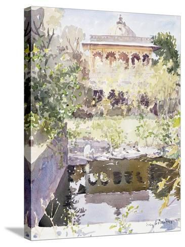 Forgotten Palace, Udaipur, 1999-Lucy Willis-Stretched Canvas Print