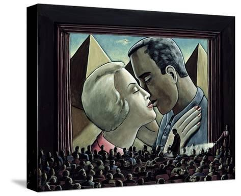 The Kiss, 2003-P.J. Crook-Stretched Canvas Print