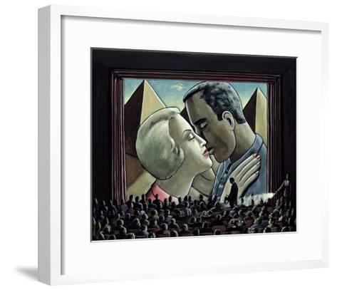 The Kiss, 2003-P.J. Crook-Framed Art Print