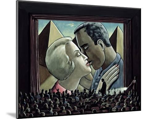 The Kiss, 2003-P.J. Crook-Mounted Giclee Print