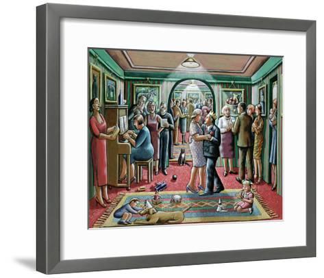 The Party, 2003-P.J. Crook-Framed Art Print
