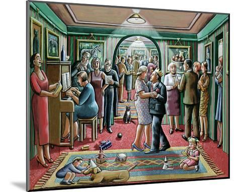 The Party, 2003-P.J. Crook-Mounted Giclee Print