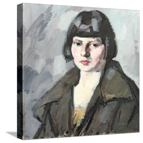 Head of a Young Girl, C.1920-Samuel John Peploe-Stretched Canvas Print
