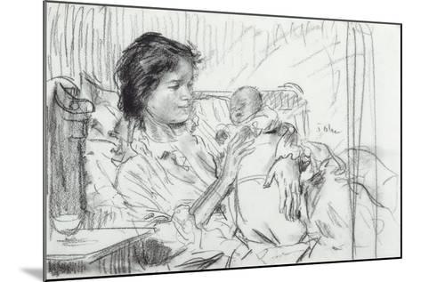 Ida and Child-Augustus Edwin John-Mounted Giclee Print