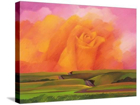 The Rose, 2001-Myung-Bo Sim-Stretched Canvas Print