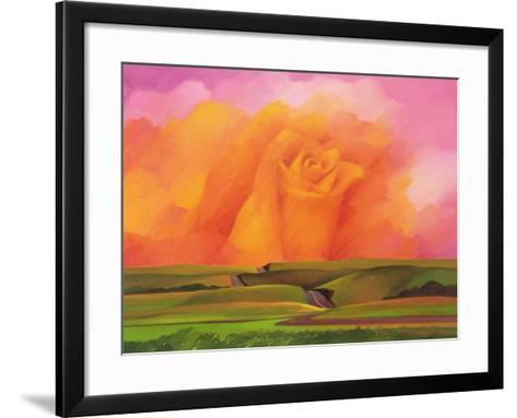 The Rose, 2001-Myung-Bo Sim-Framed Art Print