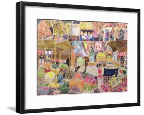 Ubud Market, Bali, 2002-Hilary Simon-Framed Art Print