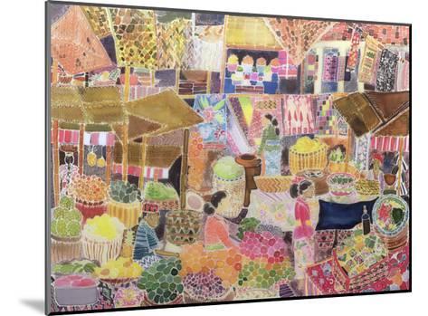 Ubud Market, Bali, 2002-Hilary Simon-Mounted Giclee Print