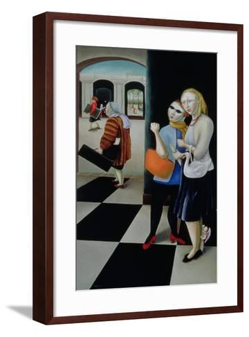 Songs of Travel, 8: Bright Is the Ring of Words-Caroline Jennings-Framed Art Print
