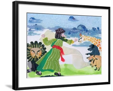 Noah-Jung Sook Nam-Framed Art Print