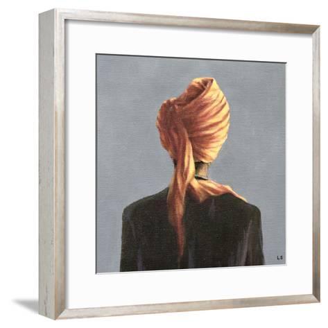 Orange Turban, 2004-Lincoln Seligman-Framed Art Print