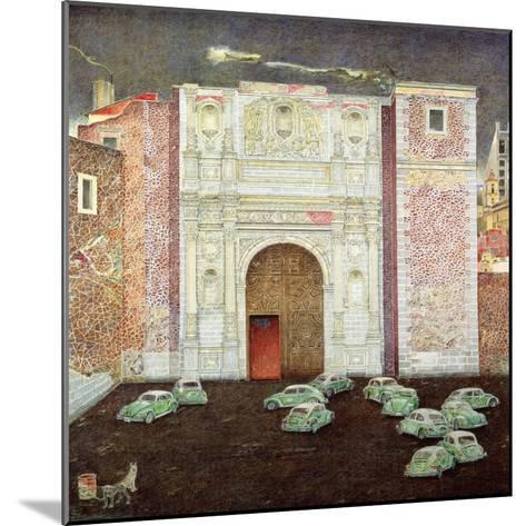 Taxi Depot, San Lazaro, Mexico City, 2003-James Reeve-Mounted Giclee Print